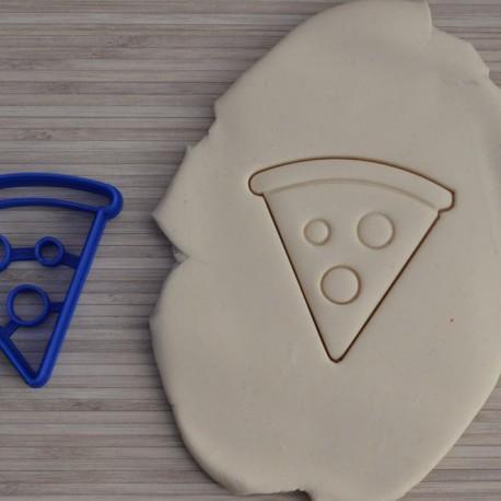 Pizza cookie cutter