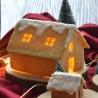 Gingerbread House cookie cutter 3D - XL