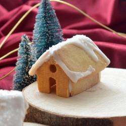 Gingerbread House cookie cutter 3D - M