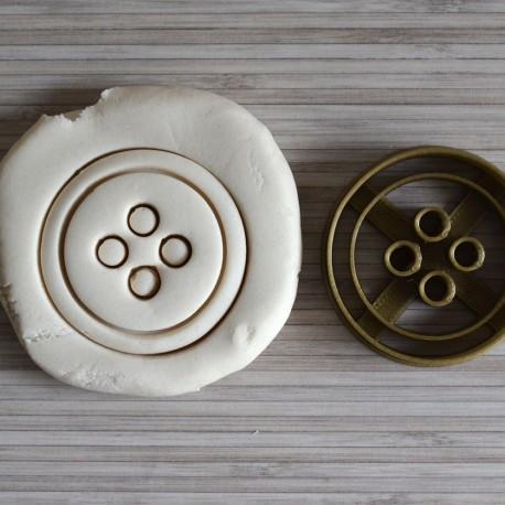 Button cookie cutter
