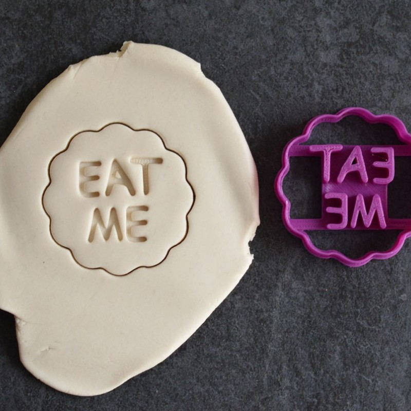 Eat Me Cookie Cutter Alice In Wonderland La Bo 238 Te 224