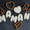 Mother's day cookie cutter - Set of 4 cookie cutters