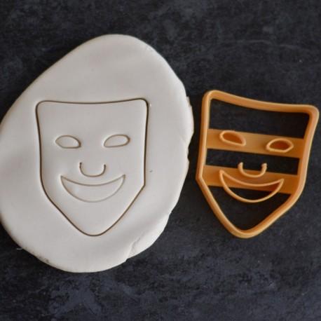 Emporte-pièce Masque Théatre