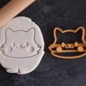 Cute Cat / Fox cookie cutter