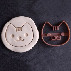 Kawaii Cat cookie cutter