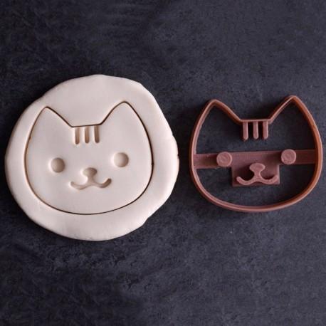 Kawaii Cat cookie cutter