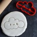 Kawaii Cloud cookie cutter
