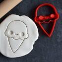 Kawaii Ice Cream cookie cutter
