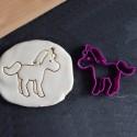 Horse cookie cutter