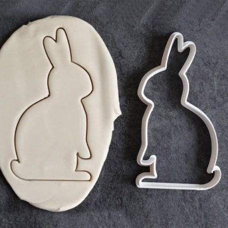 Rabbit cookie cutter