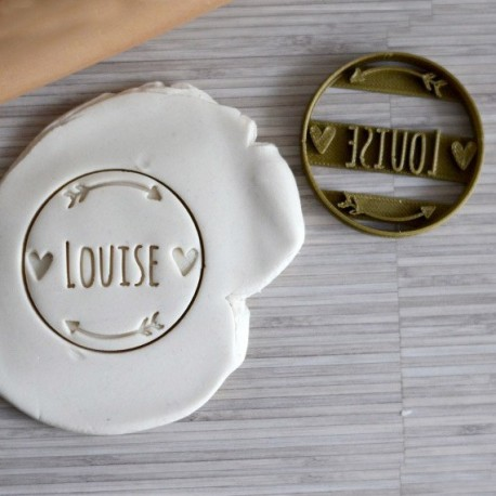 Bohemian Custom cookie cutter - Personalized