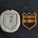 Custom Police insigne cookie cutter - Personalized