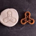 Handspinner cookie cutter