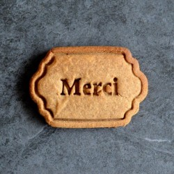 Merci cookie cutter