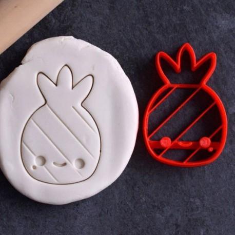 Pineapple Kawaii cookie cutter