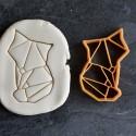 Fox Origami cookie cutter