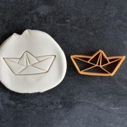 Paper Boat Origami cookie cutter
