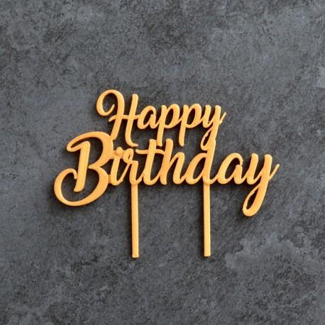 Happy Birthday Cake Topper La Bo 238 Te 224 Cookies