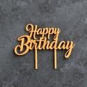 Décoration de gâteau Happy Birthday - Cake Topper