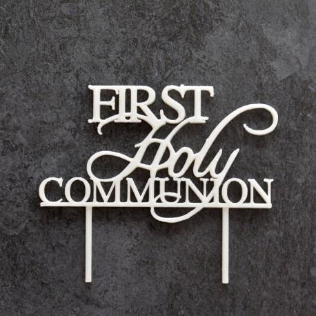 Décoration de gâteau First Holy Communion - Cake Topper