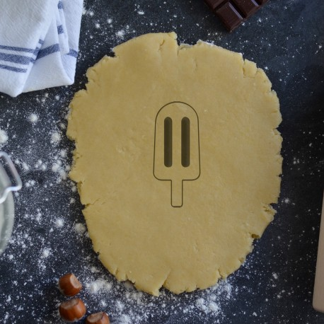 Inner drawing Popsicle cookie cutter