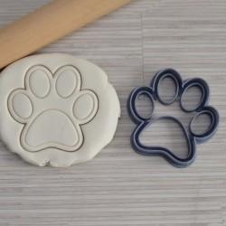 Emporte-pièce en forme de patte de chien