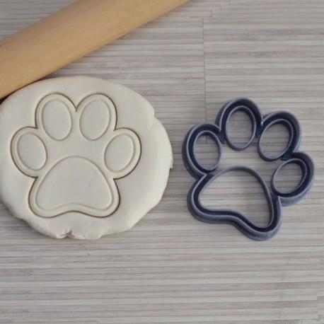 emporte pi ce en forme de patte de chien la bo te cookies. Black Bedroom Furniture Sets. Home Design Ideas