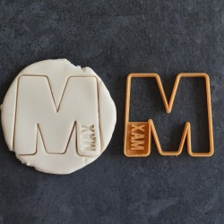 Letter and name Custom cookie cutter - Personalized