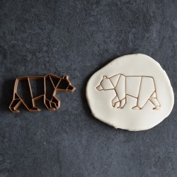 Polar Bear Origami cookie cutter