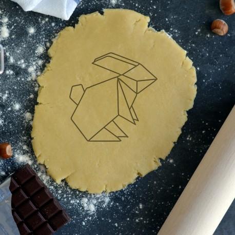 Rabbit Origami cookie cutter - 2