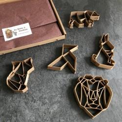 La Boite à Cookies - Septembre 2017 - Origami