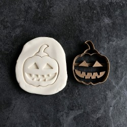 Spooky Halloween Pumpkin cookie cutter