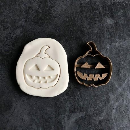 Spooky Halloween Pumpkin cookie cutter
