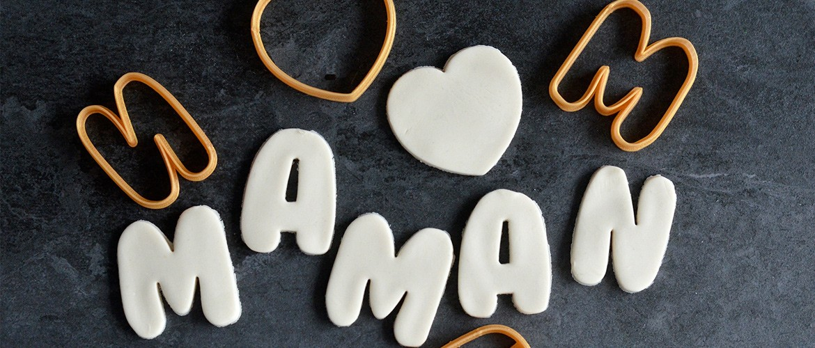 Mother's day cookie cutter