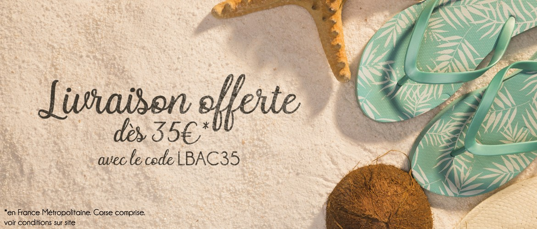 Livraison Gratuite 35 euros