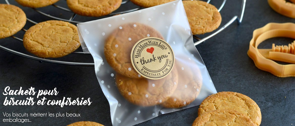 Sachets pour biscuits